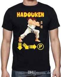 $enCountryForm.capitalKeyWord NZ - Summer 2018 New Street Fighter Hadouken Classic Video Arcade Game 80's 90's Black Geek T Shirt Hip-Hop Tops Tees
