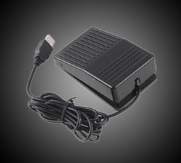 $enCountryForm.capitalKeyWord Australia - Wholesale New Dropship Hot Selling USB Foot Switch Pedal Switch HID PC Computer USB Action Control Keyboard