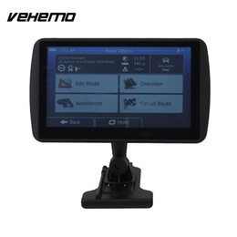 Gps Car Portable Australia - 7 Inches 4G Portable HD GPS Satnav MP3 Player With Map Free Maps For Car Truck