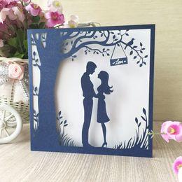 Shop Laser Cut Tree Wedding Invitations UK Laser Cut Tree Wedding