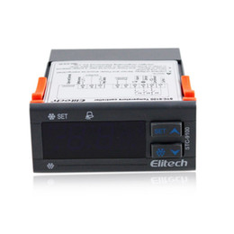 digital controllers UK - Freeshipping 3 Relay Digital Temperature Controller with 2 sensor refrigeration defrost 9100