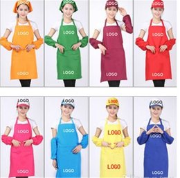 arts crafts adults NZ - 11 Colors Adult Aprons Pocket Craft Cooking Baking Art Painting Adult Kitchen Dining Bib Aprons Aprons Free Shipping KKA1053