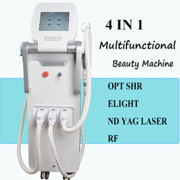 Laser Lights designs online shopping - Newest design multifunction in1 nd yag laser ipl e light rf beauty machine use spa equipment