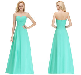 Chinese  Sexy Real Photos Turquoise 2019 New Arrival Cheap Bridesmaid Dresses Sweetheart Zipper Back Wedding Guest Prom Evening Wear Dress BM0051 manufacturers