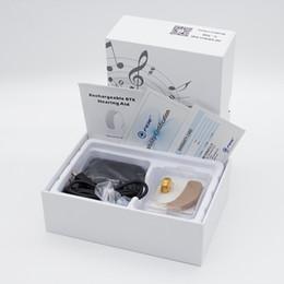 aide auditive rechargeable BTE Prothèses auditives pour les personnes âgées Déficience auditive Amplificateur de son Appareil et instruments gratuits pour le traitement de l'air C-108