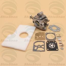 Carburetor Rebuild Kits NZ - Carburetor Air Filter Repair Rebuild Kit For STIHL MS170 MS180 MS 170 180 017 018 Chainsaw Zama C1Q-S57B 1130 120 0603