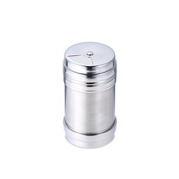 $enCountryForm.capitalKeyWord UK - 200pcs Stainless steel Spice shaker Pepper Salt Bottles Condiment Container Kitchen tool Seasoning container free shipping
