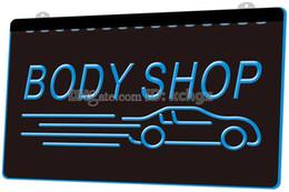 $enCountryForm.capitalKeyWord NZ - [F1670] Body Shop Auto Car NEW 3D Engraving LED Light Sign Customize on Demand 8 colors