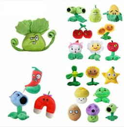 Plants Vs Zombies Stuff Toy NZ - 13-25cm Plants vs Zombies Plush Toys Soft Stuffed Plush Toys Doll Baby Toy for Kids Gifts Party Toys Birthday Gifts 14 design KKA5922
