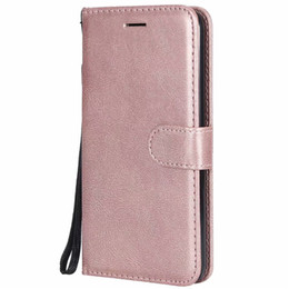 Flip Cover Lg UK - Wallet Case For LG K10 2018 European Edition Flip back Cover Pure Color PU Leather Mobile Phone Bags Coque Fundas