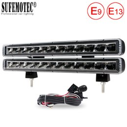 "Discount 13 led light bar - 13"" Single Row 120W LED Light Bar USA Standard Lamp For Offroad Trucks Boat SUV ATV 4WD Waterproof 12V 24V IP68 DRL"