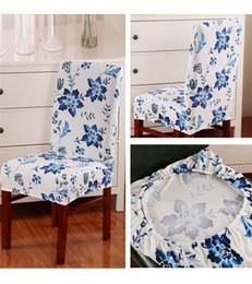 Decor Ornament Australia - Multifunctional christmas Chair covers Home Dining antifouling Chair Cover Removable Elastic Xmas Slipcover Seat Covers Home Decor Ornament