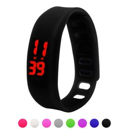 $enCountryForm.capitalKeyWord UK - GEMIXI HOT SALES Womens Mens Rubber LED Watch Date Sports Bracelet Digital Wrist Watch Dropship
