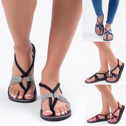 e6d5706c6ed9 Women Sandal 2018 ladies shoes Woman Summer Black Clip toe Shoes Gladiator  Sandals Beach Shoes Flip Flops