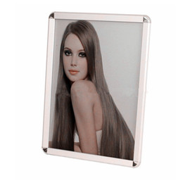 A4 posters online shopping - A4 Aluminum mm Profile Snap Frame Click Poster Frame For Advertising And Photo Display With mm Round Or Mitered Corner Customized Sizes