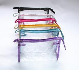Clothing Clear bag online shopping - 7 Colors PVC Brief Clear Storage Bag Travel Gadgets Closet Organizer Designer Bags Handbag Household Suppiles Home Decor