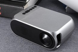Multimedia Media Player Australia - YG320 HD USB Mini LED Projector 1080P Home Theater Multimedia Player Support HDMI TV Media Movies Players Beamer Portable Cinema