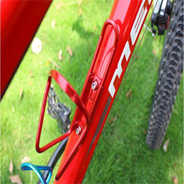 CyCling bottle Cages online shopping - Colour Kettle Frame Aluminum Alloy Male Female Outdoor Cycling Sports Bicycle Accessories Easy Carry Small Mountain Bike kb cc