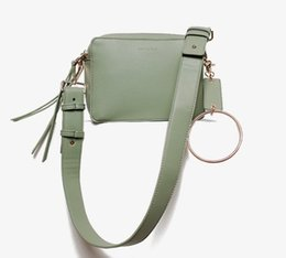 small double zipper bag UK - 2018 Korean version of the new women's bag double zipper metal ring small square Bag Shoulder Bag Satchel