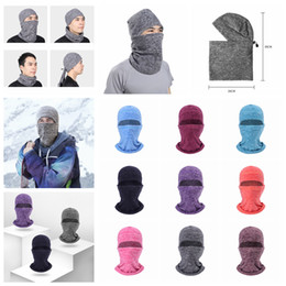 Skull head motorcycle online shopping - 9styles Winter mask cycling warm Hat Thicker Barakra motorcycle windproof Skiing dust outdoor sports head sets Tactical mask FFA1273