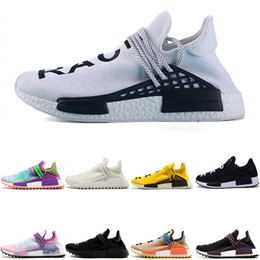 Chinese  Crazy Africa solar Cheap Wholesale HUMAN RACE Pharrell Williams x 2016 Men's & Women's Discount trainer men Sport designer shoes sneaker manufacturers