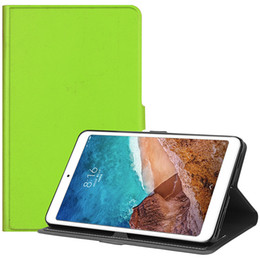 $enCountryForm.capitalKeyWord NZ - 20PCS Good TPU Leather Case with Auto Sleep Wake Up for Xiaomi Mi Pad 4 Mipad 4 8.0 2018 Tablet Smart Cover+Stylus