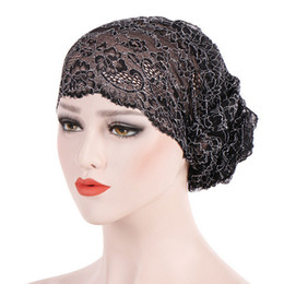 413dd793d1e Hats For Chemo Australia - Winter Hats Women for Muslim Ruffle Lace Cancer  Chemo Hat Beanie