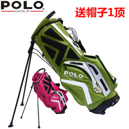 Wholesale brand POLO golf rack tripod bag backpack bag piece clubs container Anti Friction golf cart staff
