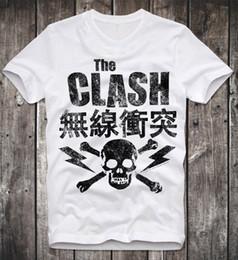 5acd13e22a300 Vintage Punk Rock T Shirts Canada - T SHIRT THE CLASH PUNK ROCK JOE  STRUMMER LONDON