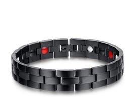 Hot sell Europe and the United States fashion titanium steel bracelet trend magnet bracelet