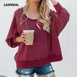 $enCountryForm.capitalKeyWord NZ - wholesale 2018 Fashion Autumn Women Casual Sweatshirt Hoodies Long Sleeve Pullovers Tops Sexy Backless Irregular Sweatshirts S-XL
