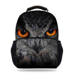 $enCountryForm.capitalKeyWord Canada - 15inch Hot Sale Animal Felt Backpack For School Boys Girls Owl Bag For Kids Students Book Bags For Children Travel