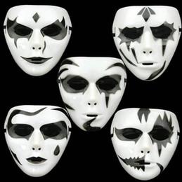 Full Face Costume Mask Australia - Halloween Full Face mask Horror Skull Scream Ghost for Party Costume Cosplay Christmas Masquerade party mask KKA6178