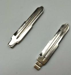 Toyota Key Blanks Australia - 10Pcs lot Best Qualit Key Blanks Uncut Blade For KIA RIO ELANTRA ACCENT Copper NO.34