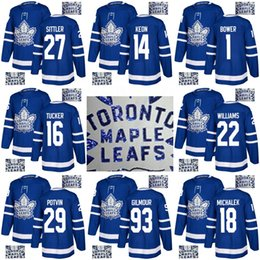 Discount gold leaf embroidery - Gold Embroidery Jerseys Tiger Williams Johnny Bower Garret Sparks Bruce Boudreau Darryl Sittler Dave Keon Toronto Maple