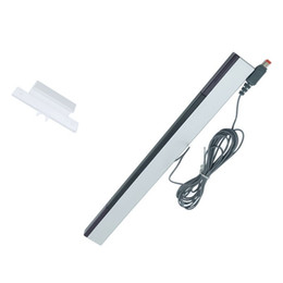 Wholesale 200pcs lots wholesaler Wired Infrared IR Signal Ray Sensor Bar Receiver for Wii Remote