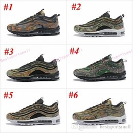 4d33d2ba9 2018 New 97 Country Camo Japan Italy UK Army Green Running Shoes Women Men  97 Ultra Bullet 3M Premium Zoom Trainers Sneakers 36-46