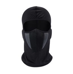 Chinese  HEROBIKER Balaclava Motorcycle Face Mask Moto Helmet Bandana Hood Ski Neck Full Face Mask Windproof Dustproof Face Shield (Retail) manufacturers