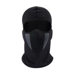 China HEROBIKER Balaclava Motorcycle Face Mask Moto Helmet Bandana Hood Ski Neck Full Face Mask Windproof Dustproof Face Shield (Retail) cheap full face shield suppliers