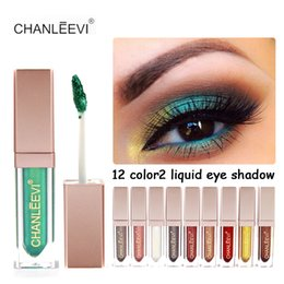 $enCountryForm.capitalKeyWord Canada - New Brand Makeup Waterproof Liquid Eyeshadow Glitter White Gold Red Color Pigments Shimmer Eye Shadow Stick Cosmetics