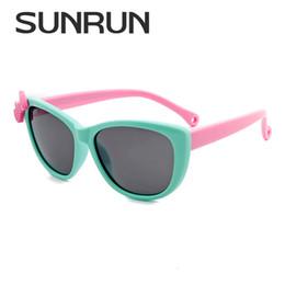 b58b1fcf13e SUNRUN Shades Fashion New Kids UV400 Protection Polarized Sunglasses Baby  Child TR90 Frame Googles Cool Eyewear For Boys Girls Wholesale