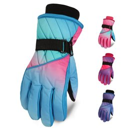 d0cf85ef5 1 Pair Children Ski Gloves Kids Boys Girls Winter Warm Waterproof Windproof  Snow Snowboard Gloves Winter Thermal Warm Mittens