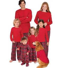 c5321ffdd7 ... lower price with dc93f 1f610 2018 Xmas Family Matching Christmas  Pajamas Set Mom Dad Baby Kids ...