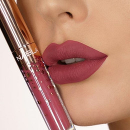matte long lasting lipgloss 2020 - hOT Sale Makeup Brand Nabla Liquid Lipstick 10 Colors Lip Gloss Star Lipgloss Makeup Lips Cosmetic Long Lasting Matte Ll