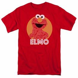$enCountryForm.capitalKeyWord UK - Tops Summer Cool Funny T Shirt Crew Neck Men Short-Sleeve Office Elmo Scribble Tee