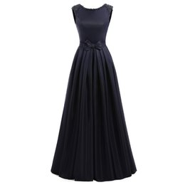 Long maternity baLL gowns online shopping - Vestido de Festa Navy Blue Prom Dresses Bead Red Prom Dresses Royal Blue Long Prom Party Dress