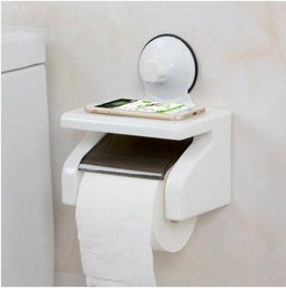 Wall Mounted Towel Bars Australia - Wholesales Free shipping Suction Cup Hangers Toilet Paper Tissue Bar Holder Bathroom Wall Towel Rack