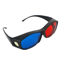 China Free Drop Shipping Plastic 3D Glasses Stereo Glass VISION Game Glasses, Red Blue Cyan NVIDIA Myopia & General Glasses,Ideal Gift cheap cyan plastic suppliers