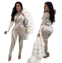 $enCountryForm.capitalKeyWord Canada - Ds Dress Sexy Sparkly Printed Jumpsuit Bling Nightclub Dress Birthday Celebrate Rompers Outfit Costume Singer Performance Show Bodysuit Wear