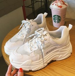 2018 latest hot ladies casual shoes comfortable breathable thick bottom fashion sports running shoes anti sweat brand Dad buy cheap new styles best sale cheap 2015 new sale geniue stockist vNGydMozO